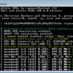 Miner Cgminer for the miner algorithm Lyra2rev2 c Asm kernel for AMD GPU