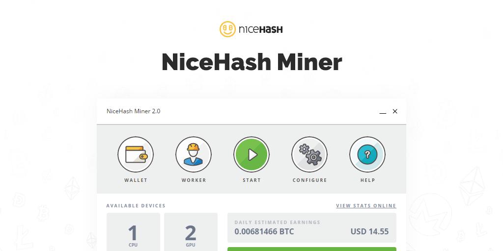 DOWNLOAD NiceHash Miner 2.0.2.8