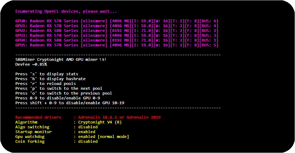 SRBMiner 1.9.3 Скачать Download