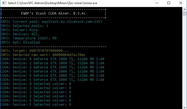 EWBF-miner v0.6 (Equihash miner) – Download and Setup
