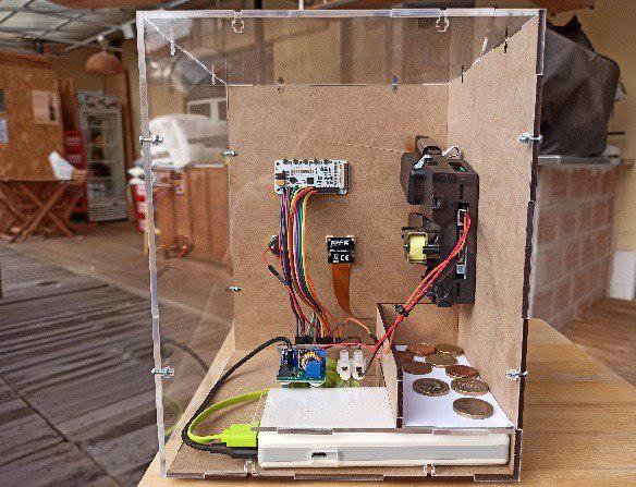 Home-made ATM for transactions in the Lightning Network