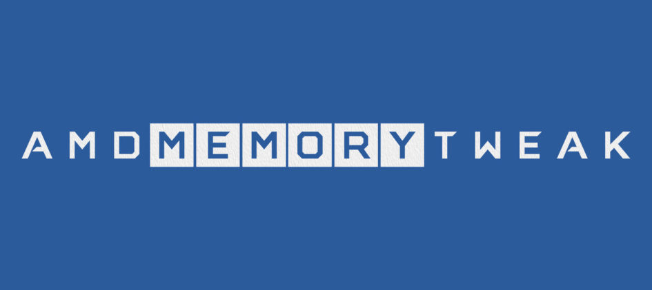 AMD Memory Tweak Tool для Linux и Windows