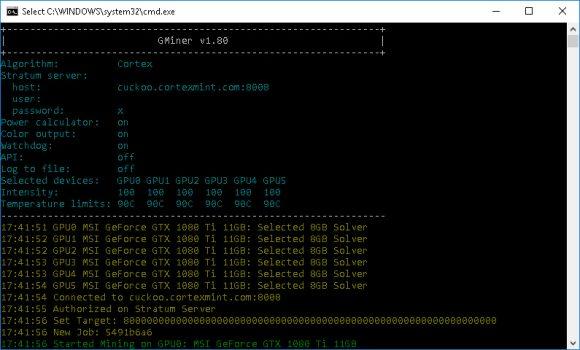 GMiner v1.95/1.94: AMD/Nvidia GPU miner (Скачать для Windows/Linux)
