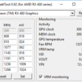 WattTool v0.92: A Simple Tool for Overclocking and Configuring VRM for the RX 400