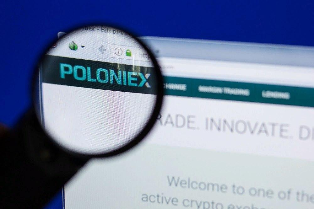 Poloniex exchange rolled back operations history due to a discovered bug