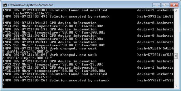 EMINER v0.6.1-RC2: ETHash miner With Web Dashboard