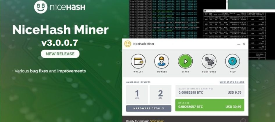NiceHash Miner 3.0.0.7: Download