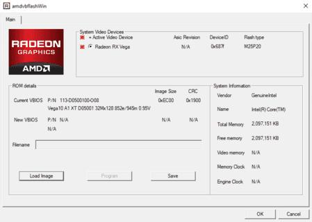 ATI ATIFlash & AMD VBFlash V2.93: Bios Editor AMD GPUs для Windows x32/x64 bit