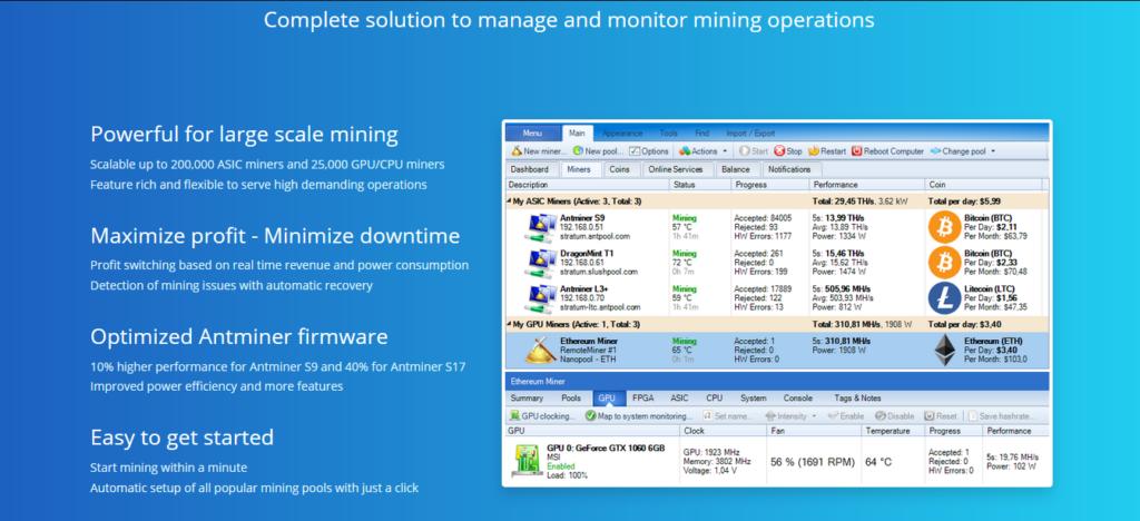 AwesomeMiner v7.7.1: ASIC/GPU/CPU-mining (Скачать для Windows)