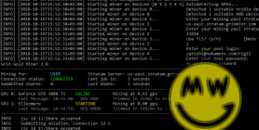 GrinGoldMiner v3.0 -     Nvidia & Amd miner Grin (Cuckarood29 PoW)