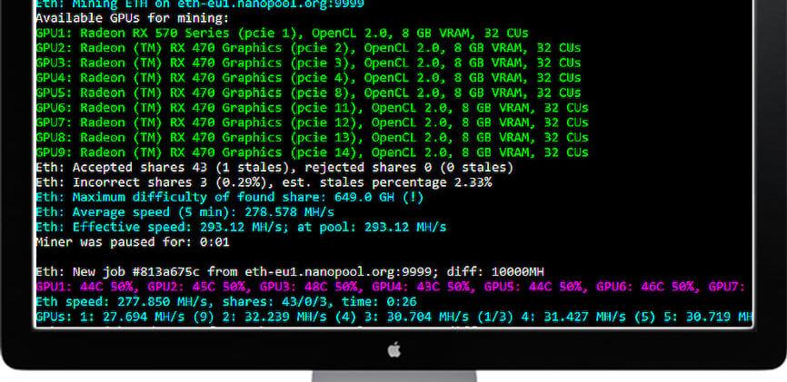 PhoenixMiner v5.0b: Nvidia & AMD GPU miner (Скачать для Windows/Linux)