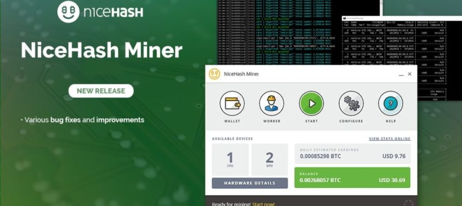NiceHash Miner v3.0.1.0: Download with KAWPOW support for Windows