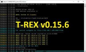 t rex mining software