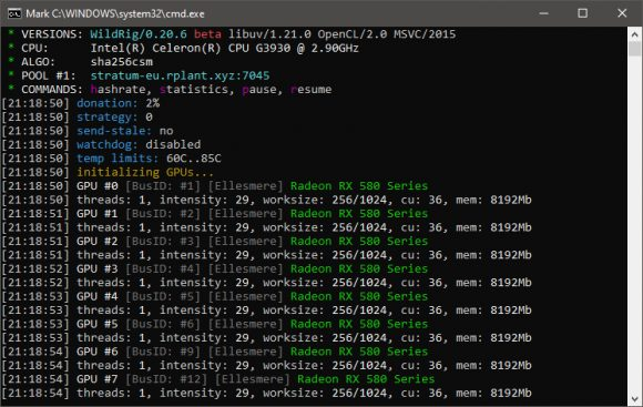 WildRig Multi 0.20.6: Download AMD GPU Miner with Sha256csm support