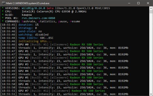 WildRig Multi v0.24.1: AMD GPU Miner c улучшенной производительностью KAWPOW