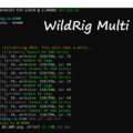 WildRig Multi v0.25.2 beta (multi algo miner for AMD & NVIDIA)