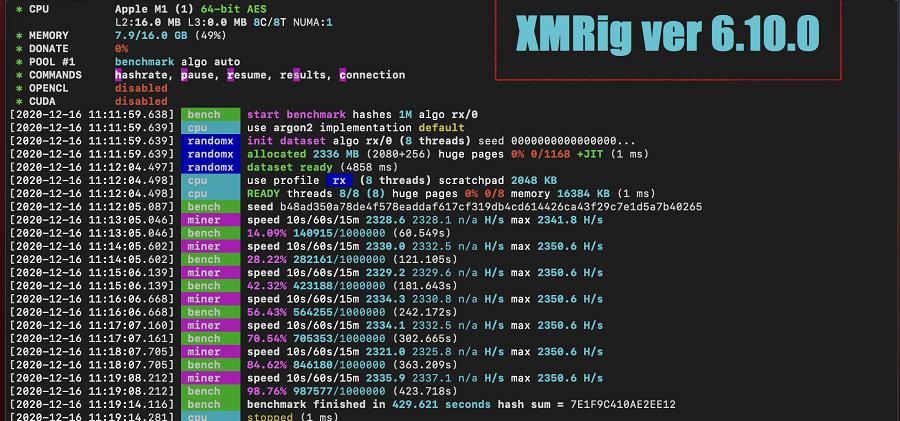 XMRIG 6.10.0