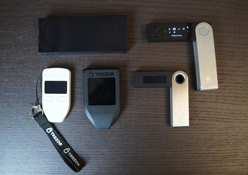 ledger trezor hardwallet cryptocurrency
