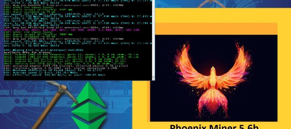 phoenix miner 5.6b download win linux